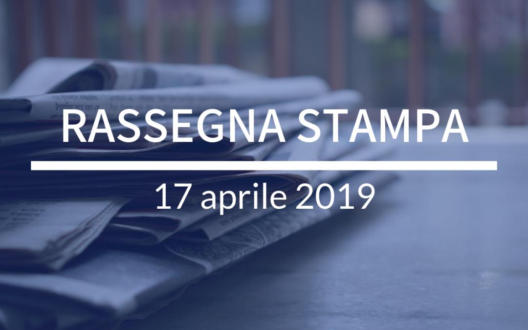 EUROPEE 2019, su Corriere parlo di famiglia, società e FI