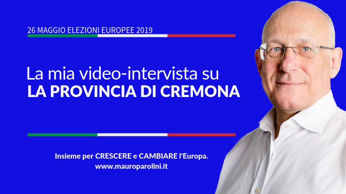 Video-intervista per La provincia di Cremona
